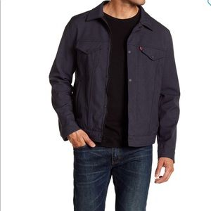 Levi's – Classic Trucker Jacket HTR NVY CO